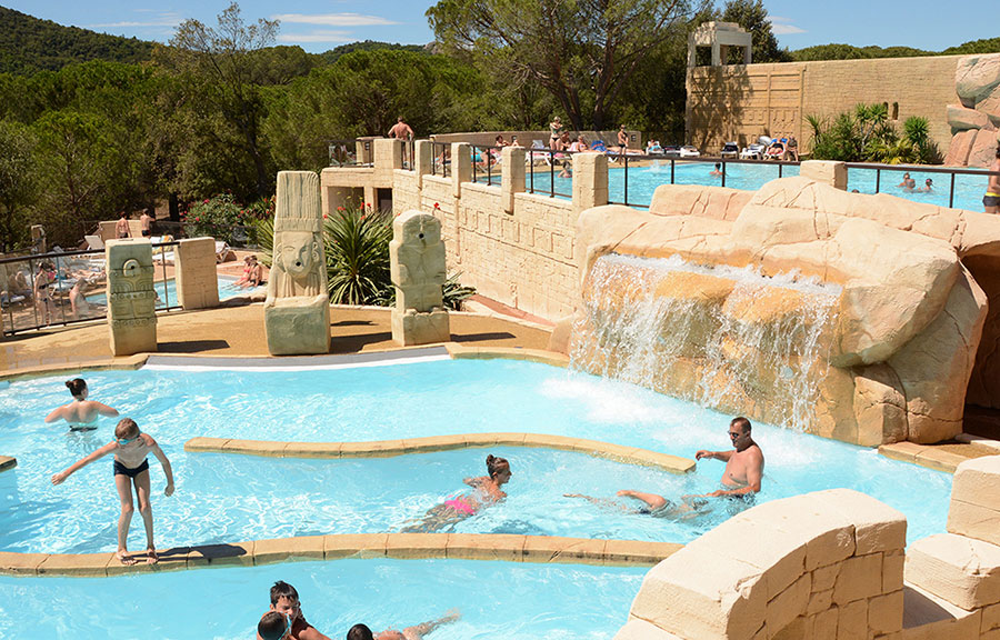 Camping le muy les cigales sud dans le var en provence - Camping dans le var avec piscine ...